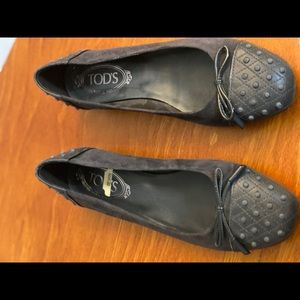Tod's driving shoe size 9